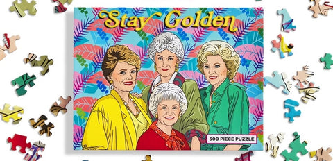 Golden Girls Stay Golden Puzzle