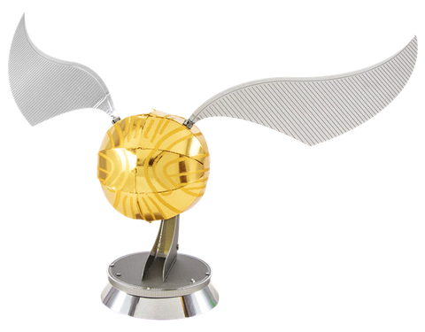 Golden Snitch Metal Model