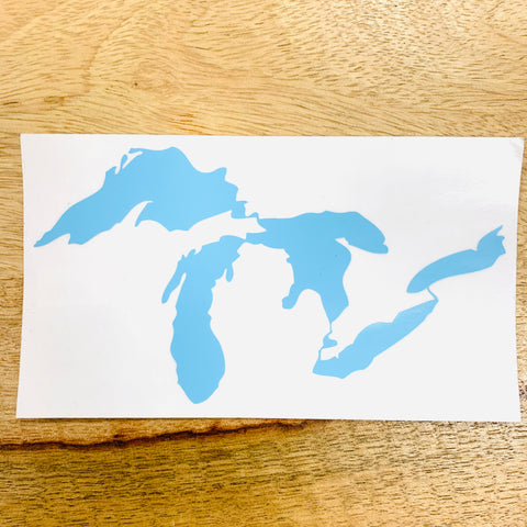 Great Lakes Clear Sticker