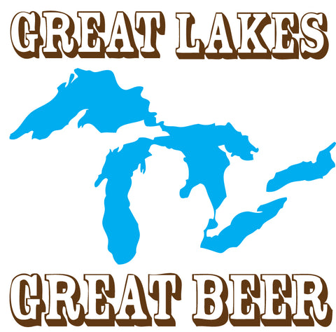 Great Lakes Great Beer Sticker