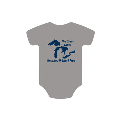 Great Lakes Unsalted Onesie