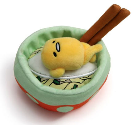 Gudetama With Noodles Plush