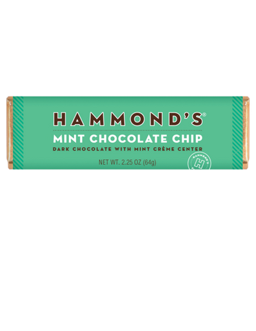 Hammond's Mint Chocolate Bar