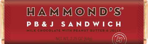 Hammond's PB & J Chocolate Bar