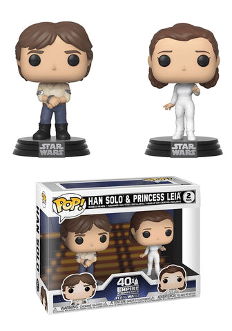 Han & Leia POP Figures