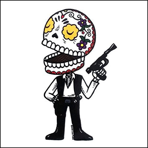 Han Solo - Day of the Dead Sticker
