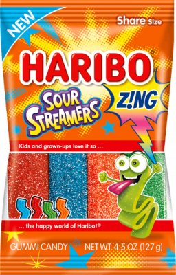 Haribo Sour Streamers