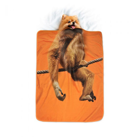 Howligans Pet Blanket Monkey