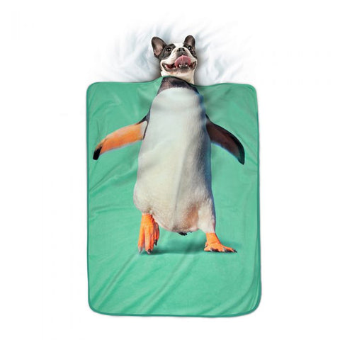 Howligans Pet Blanket Penguin