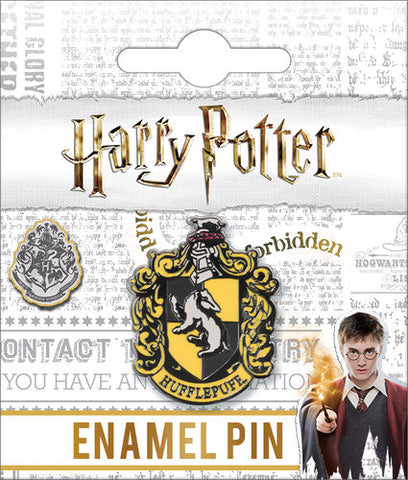 Hufflepuff Crest Enamel Pin Harry Potter