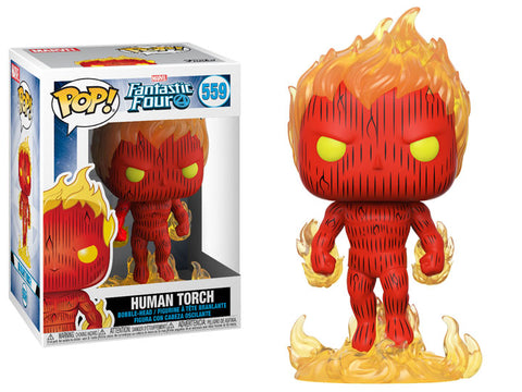 Human Torch POP Figure
