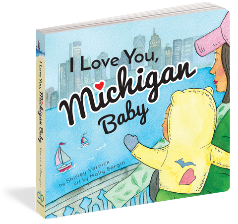 I Love You Michigan Baby Book