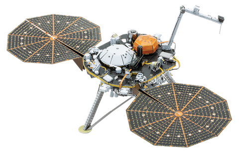 Insight Mars Lander Metal Model
