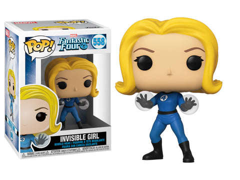 Invisible Girl POP Figure
