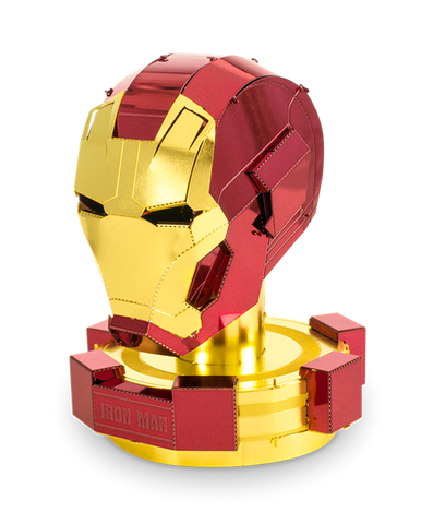 Iron Man Helmet Metal Model