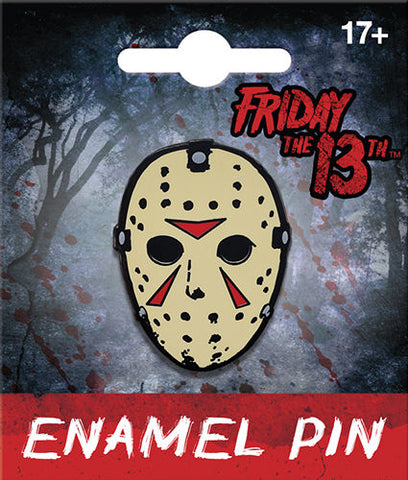 Jason Mask Enamel Pin