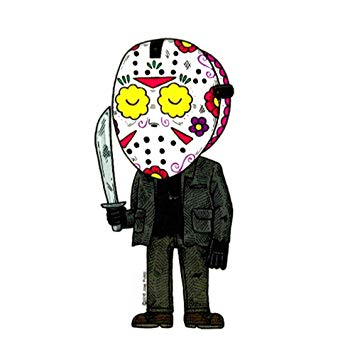 Jason Voorhees - Day of the Dead Sticker