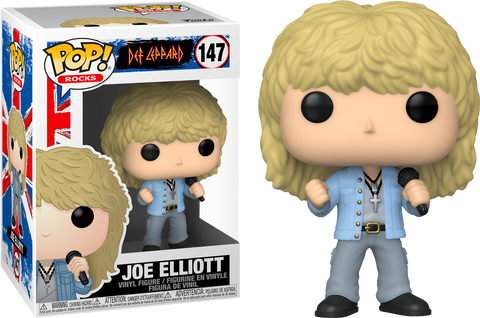 Joe Elliott POP Figure