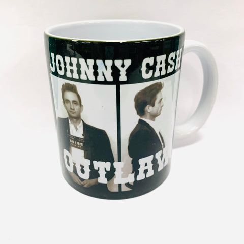 Johnny Cash Outlaw Mug