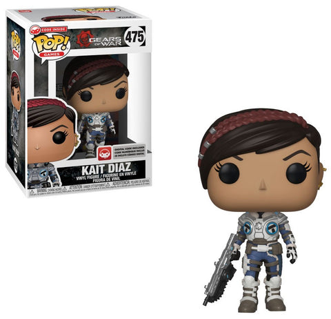 Kait Diaz POP Figure Gears Of War