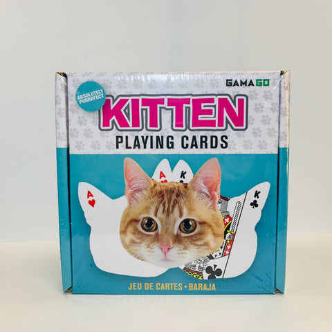 Kitten Shaped Playing Cards