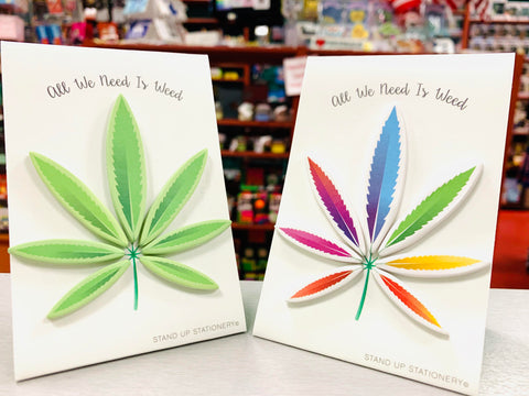Cannabis Pop-Up Sticky Notes (Choose One)