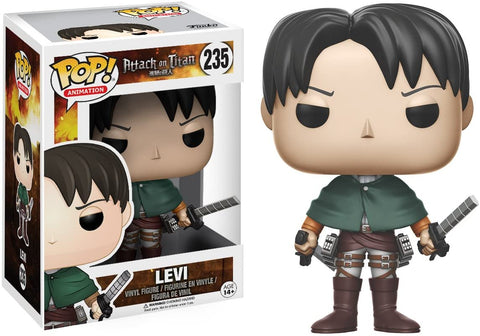 Levi Ackerman POP Figure Attack On Titan