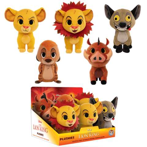 Lion King Plush (Choose One)