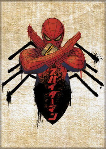 Japanese Spider-Man Magnet