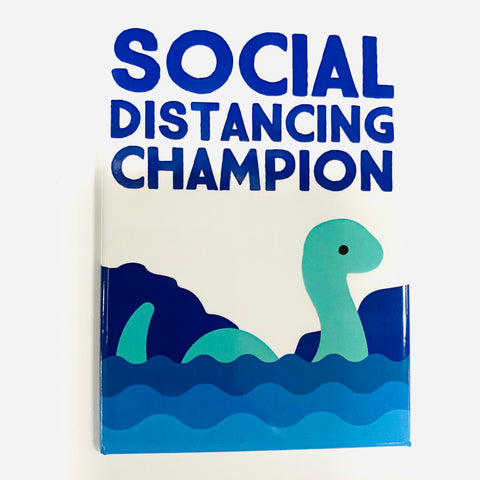 Lochness Social Distancing Magnet