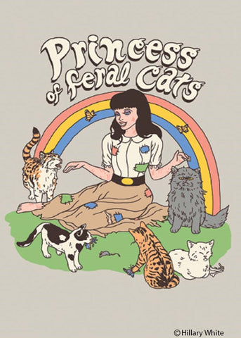Princess Of Feral Cats Magnet