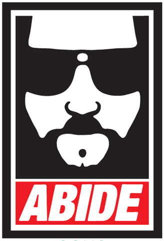 The Dude Abide Magnet