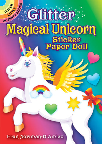 Magical Unicorn Sticker Paper Doll
