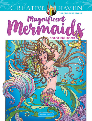 Magnificent Mermaid Coloring Book