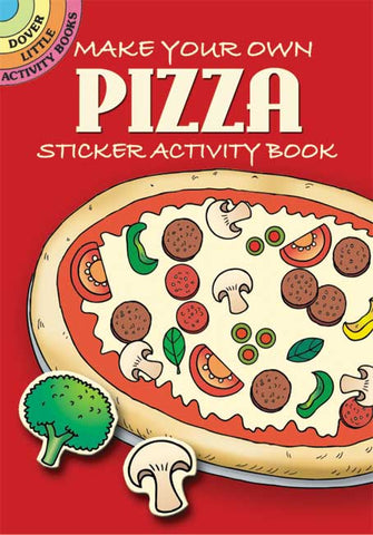 Make Your Own Pizza Sticker Book