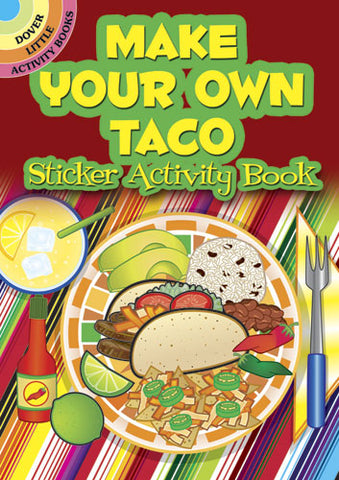 Make Your Own Taco Sticker Book