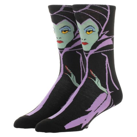 Maleficent Character Socks