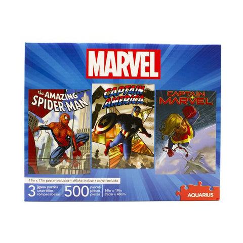 Marvel 3 Puzzle Set