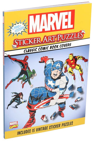 Marvel Sticker Art Puzzle