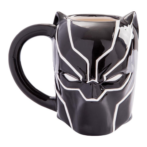 Black Panther Sculpted Mug