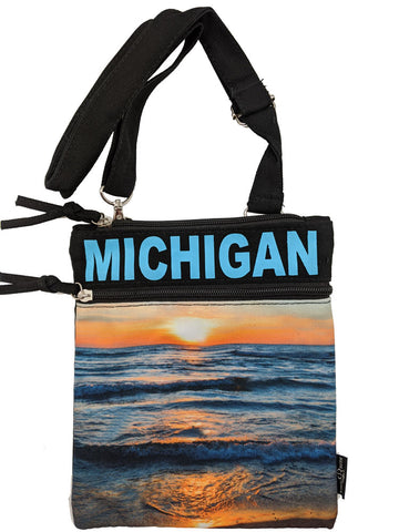 Michigan Lakes Mini Crossbody