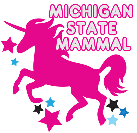 Michigan State Mammal Sticker