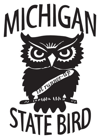 Michigan State Bird Sticker