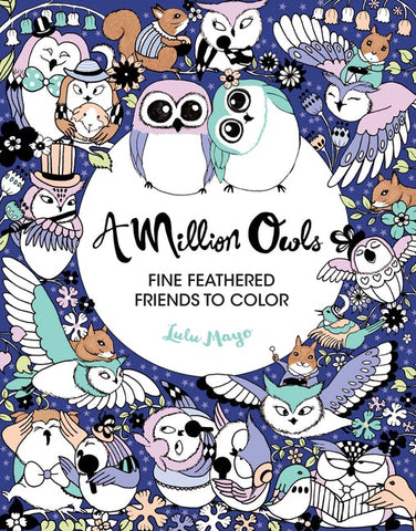 Million Owls Coloring Book