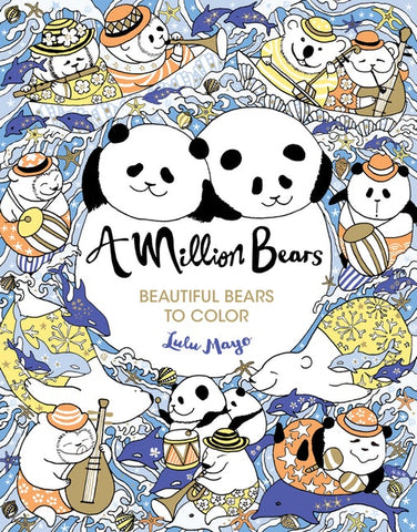 Million Bears Coloring Book