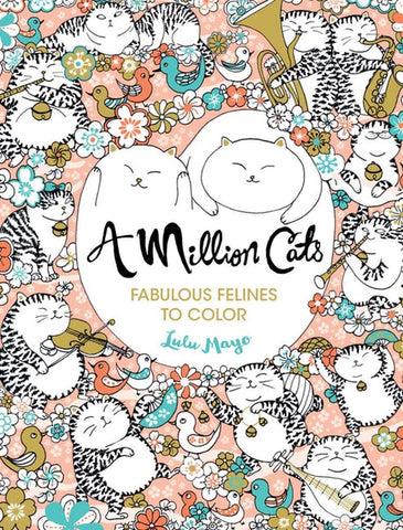 Million Cats Coloring Book