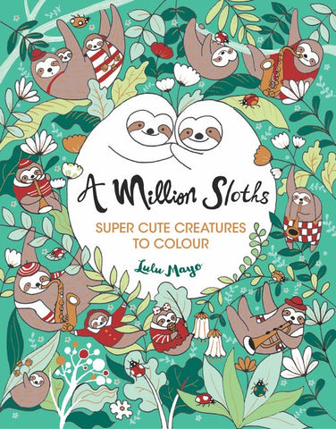 Million Sloths Coloring Book