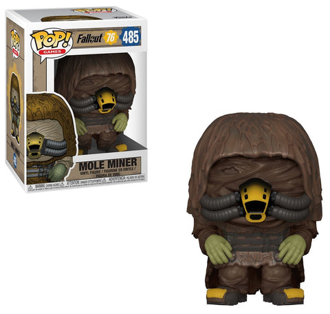 Mole Miner POP Figure