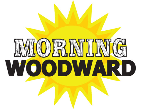 Morning Woodward Sticker