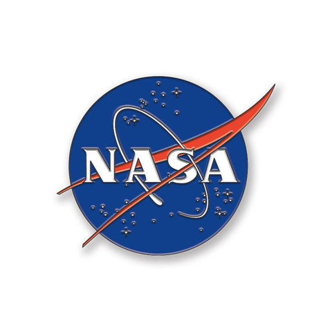 Nasa Logo Enamel Pin
